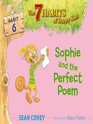 cover image of Sophie and the Perfect Poem