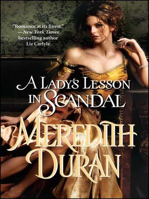 cover image of A Lady's Lesson in Scandal