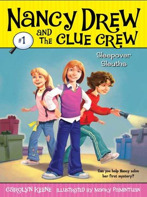 cover image of Sleepover Sleuths