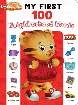 cover image of My First 100 Neighborhood Words