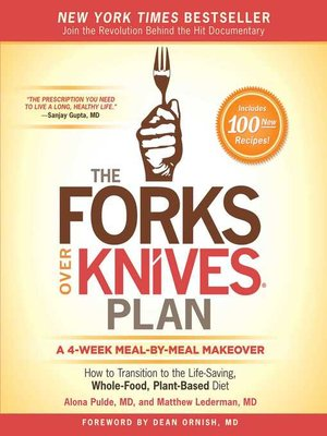 cover image of The Forks Over Knives Plan