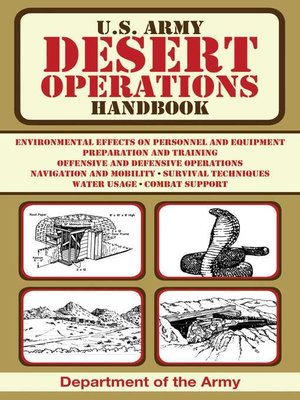 cover image of U.S. Army Desert Operations Handbook