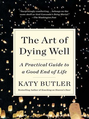 cover image of The Art of Dying Well