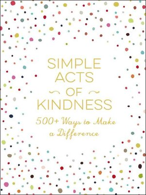 cover image of Simple Acts of Kindness
