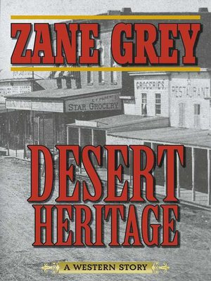 cover image of Desert Heritage