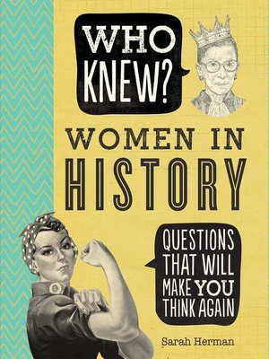 cover image of Who Knew? Women in History