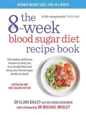 cover image of 8-Week Blood Sugar Diet Recipe Book