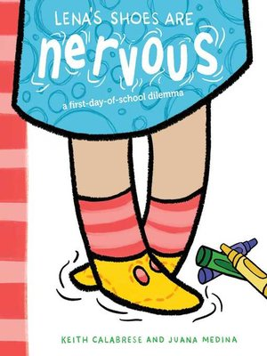 cover image of Lena's Shoes Are Nervous