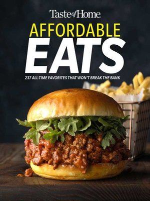 cover image of Taste of Home Affordable Eats