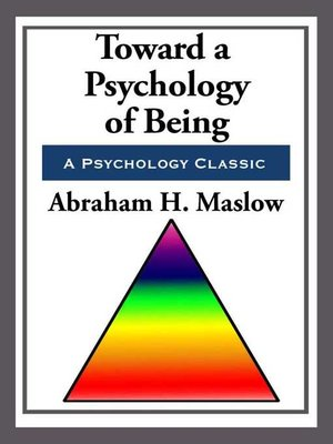 cover image of Toward a Psychology of Being