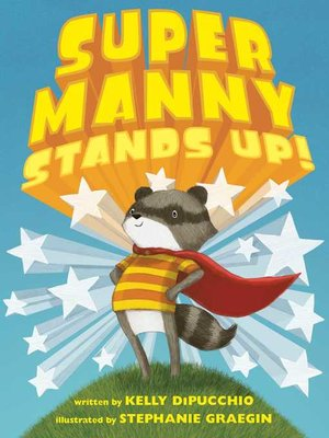 cover image of Super Manny Stands Up!