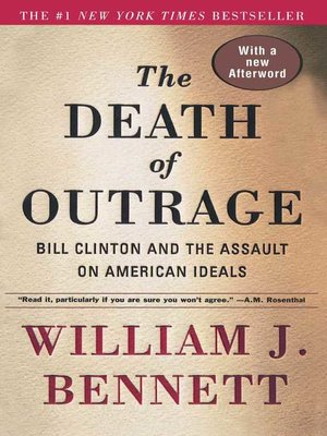 cover image of The Death of Outrage