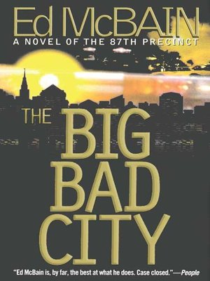 cover image of The Big Bad City