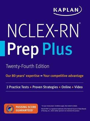 cover image of NCLEX-RN Prep Plus