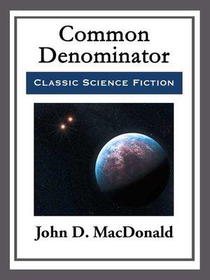 cover image of Common Denominator