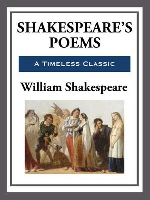 cover image of Shakespeare's Poems