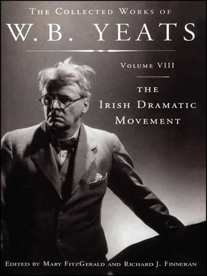 cover image of The Collected Works of W.B. Yeats Volume VIII