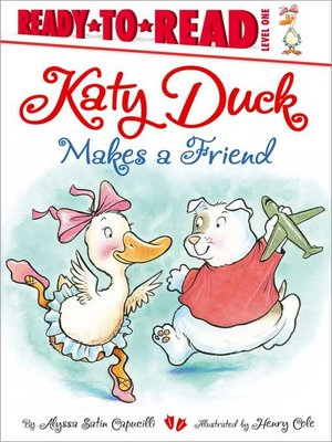 cover image of Katy Duck Makes a Friend