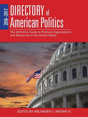 cover image of 2016-2017 Directory of American Politics