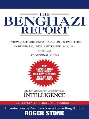 cover image of The Benghazi Report