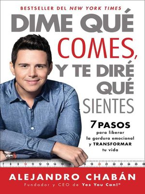 cover image of Dime qué comes y te diré qué sientes (Think Skinny, Feel Fit Spanish edition)