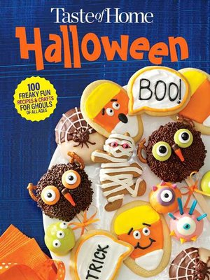 cover image of Taste of Home Halloween Mini Binder