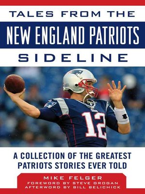 cover image of Tales from the New England Patriots Sideline