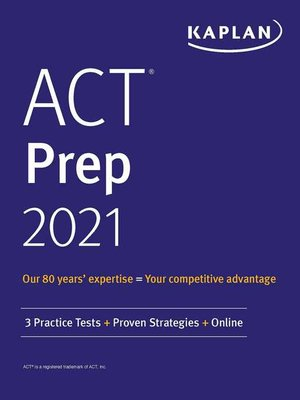 cover image of ACT Prep 2021