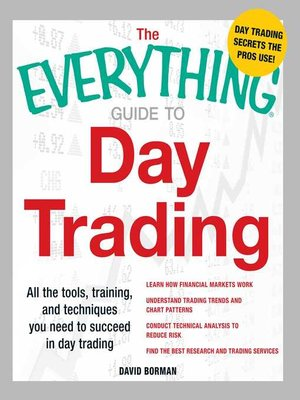 cover image of The Everything Guide to Day Trading