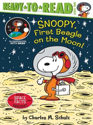cover image of Snoopy, First Beagle on the Moon!