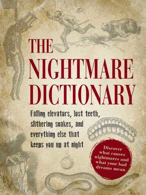 cover image of The Nightmare Dictionary