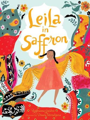 cover image of Leila in Saffron