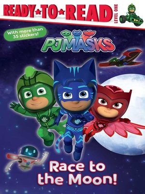 cover image of Race to the Moon!