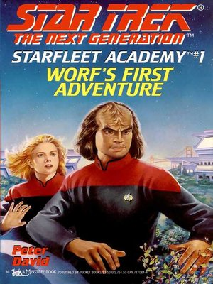 cover image of Worf's First Adventure