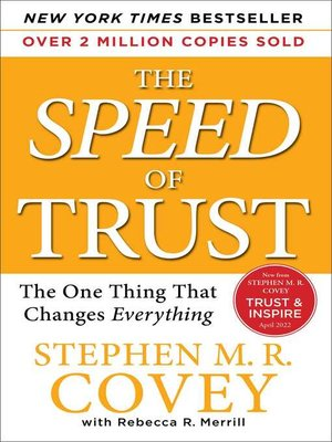 cover image of The SPEED of Trust