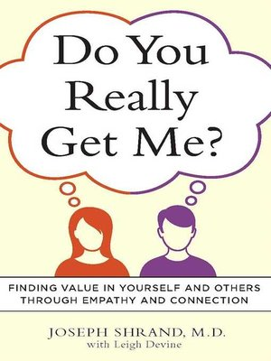 cover image of Do You Really Get Me?