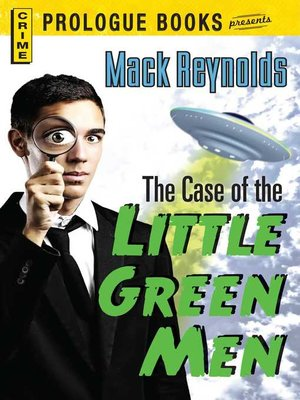 cover image of The Case of the Little Green Men