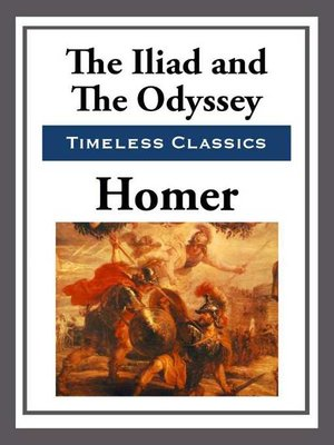 cover image of The Iliad & the Odyssey