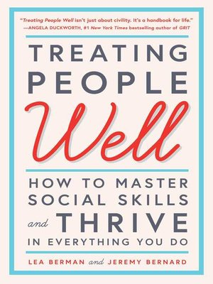 cover image of Treating People Well