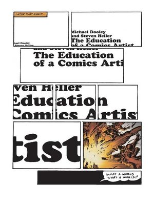 cover image of The Education of a Comics Artist
