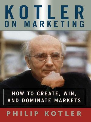 cover image of Kotler On Marketing