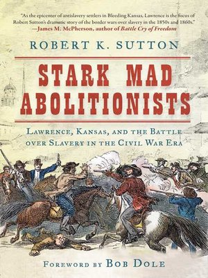 cover image of Stark Mad Abolitionists