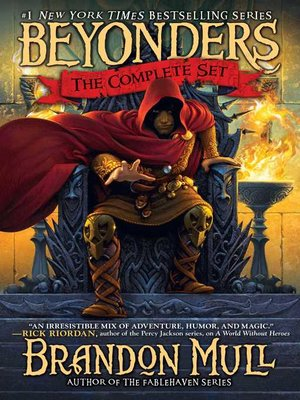 cover image of Brandon Mull's Beyonders Trilogy
