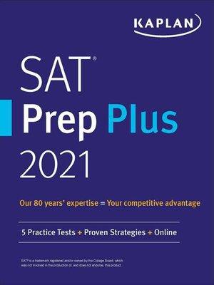 cover image of SAT Prep Plus 2021
