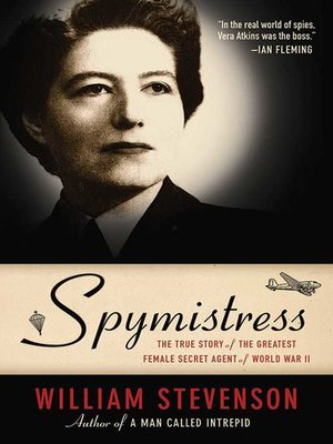 cover image of Spymistress