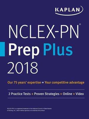 cover image of NCLEX-PN Prep Plus 2018