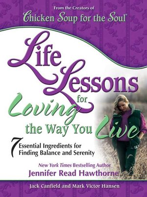 cover image of Life Lessons for Loving the Way You Live