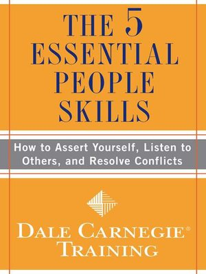 cover image of The 5 Essential People Skills