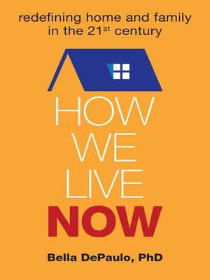 cover image of How We Live Now