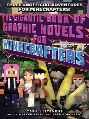 cover image of The Gigantic Book of Graphic Novels for Minecrafters